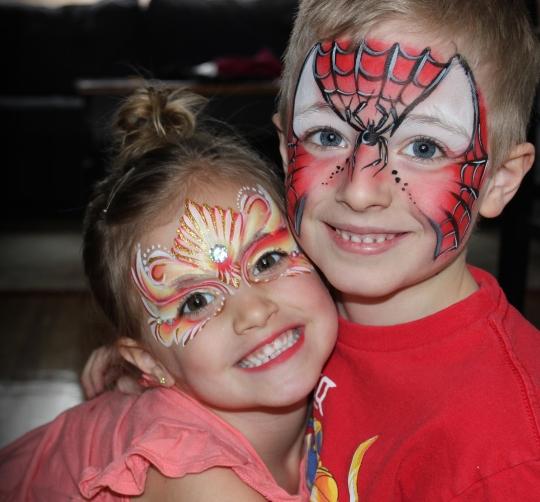 spider emma mask